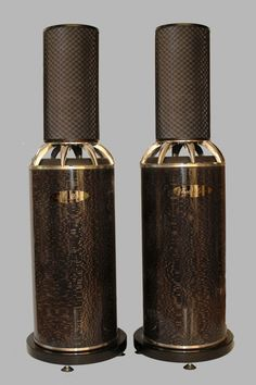 4 way passive loudspeaker. Radiating the acoustic energy horizontally in full 360 degree around plus vertical con...