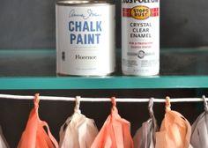 ikea hack + how to enamel chalk paint @