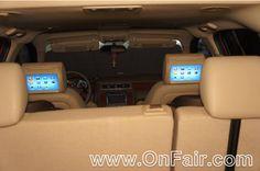Autotain Car Headrest DVD Customer Testimonial - 2013 Chevrolet Suburban  #headrestdvdplayer #family http://www.onfair.com/2013-chevrolet-suburban-headrest-monitor-dvd-player-install-photos/