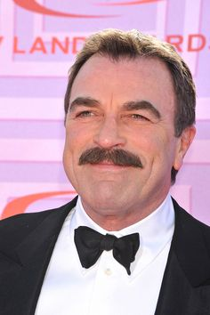 """<a href=""""http://www.cbs.com/shows/blue_bloods/""""><em>Blue Bloods</em></a> actor Tom Selleck received his Hollywood star in 1986. <br /> Watch <a href=""""http://www.cbs.com/shows/blue_bloods/""""><em>Blue Bloods</em></a> Fridays at 10/9c. <br /> <span style=""""line-height: 23.1111106872559px;"""">(Photo via: Corbis)</span>"""