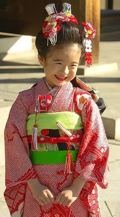 That's how my grandmother used to dress me when I would dance in the Obon in Los Angeles when I was little.