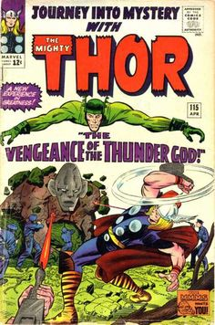 A cover gallery for the comic book Thor Marvel Comics Superheroes, Marvel Comic Books, Marvel Characters, Comic Books Art, Marvel Heroes, Vintage Comic Books, Vintage Comics, The Mighty Thor, Silver Age Comics