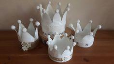Kronen Kerzenhalter aus Blechdosen