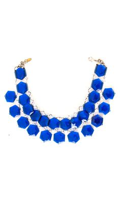 Nanni semiprecious blue stone collar -  #accessories