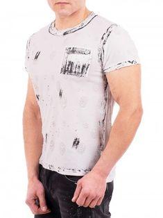 823bc2dbda2 Бяла тениска Belman Pocket - Онлайн магазин ДресПлейс