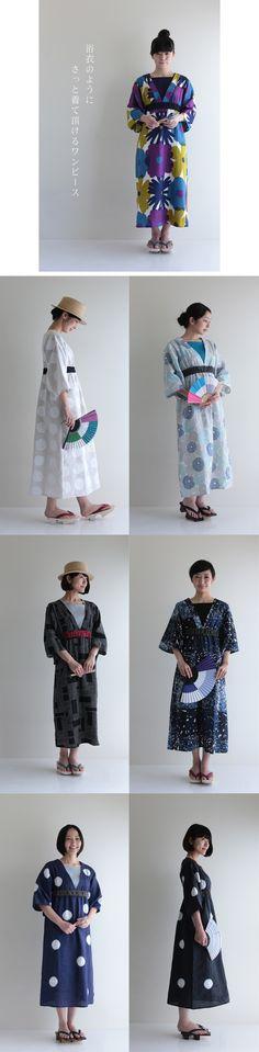 ゆかたみたて¥13,900より - SOU・SOU netshop (ソウソウ) - 日本の伝統の軸線上にあるモダンデザインをコンセプトにオリジナルテキスタイルを作成し、地下足袋や和服、子供服、作務衣、ルコックとのコラボレート商品、家具等を製作、販売する京都のブランド