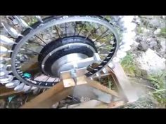 DIY Pelton Hydro Power with a 500W EBike Hub motor - YouTube