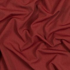 Red and Green Stretch Polyester Woven