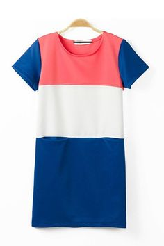 Double-pocket Short Sleeve Dress