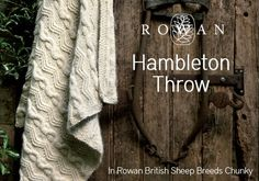 Free pattern: Rowan Hambleton Throw Blanket • LoveKnitting Blog