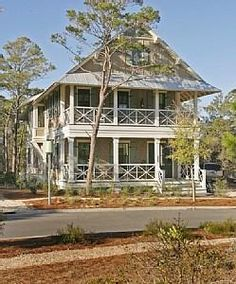 """A WaterColor Cottage in Florida: Inspired by the """"Something's Gotta Give"""" Beach House?"""