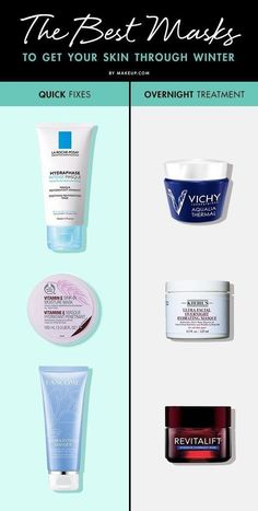 The BEST Masks to Get Your Skin Through Winter