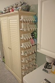 craft punch storage | Would love to have this! Craft punch storage be sure to scroll