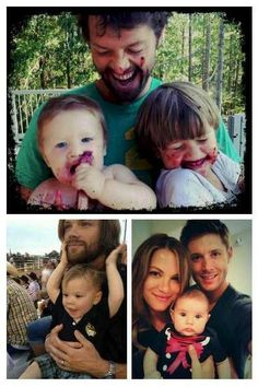 Sons. And then there's Jensen with the daughter.