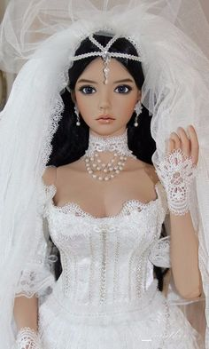 Planning Your Special Day: Wedding Tips And Tricks. Proposing marriage or accepting an engagement ring is usually very romantic for both members of a couple. Planning the actual wedding is actually one of th Barbie Bridal, Barbie Wedding Dress, Wedding Doll, Barbie Gowns, Barbie Dress, Barbie Clothes, Wedding Dresses, Beautiful Barbie Dolls, Pretty Dolls