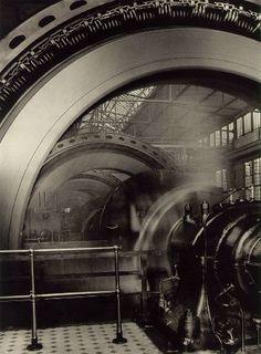 Albert Renger-Patzsch. A Series of Generators, Ilsed Plant. 1927