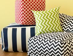 I pinned this from the Majestic Home - Colorful Poufs, Pillows, Loungers & More event at Joss and Main!