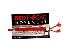 Red Thread Movement bracelet is made by girls in Nepal who have been victims of human trafficking. The money these girls earn from making these helps them start their own businesses after leaving the safe house. Fair Trade. $3.00.