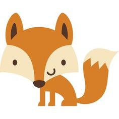 Create a Critter - 40 - Cricut Shop Woodland Creatures, Woodland Animals, Cute Drawings, Animal Drawings, Fox Party, Animal Art Projects, Create A Critter, Baby Posters, Woodland Party