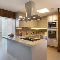 Best Simple Kitchen Designs Ideas for Small House Decoration Kitchen Trends, Kitchen Sets, Home Decor Kitchen, Kitchen Interior, Home Interior Design, Home Kitchens, Kitchen Dining, Interior Livingroom, Room Interior