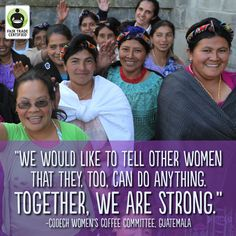 Women around the globe are changing the world through #FairTrade. Will you support them? #WomensDay