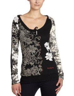 www.iwantobefitnow.tumblr.com/ Desigual TS Dakota Long Sleeve Graphic #Tshirt #fashion