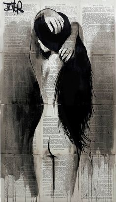 "Saatchi Art Artist Loui Jover; Drawing, ""little nymph"" /explore/art/"
