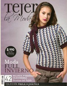 Tejer la moda 42 moda full invierno