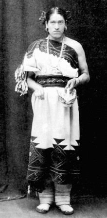 """Two-Spirit identity theory - Wikipedia, the free encyclopedia """"Perhaps the most famous two-spirit Indigenous American was from the Zuni tribe during late 1800s New Mexico. Her name was We'wha and he died in 1896 but not before befriending anthropologists who were able to document her story."""""""