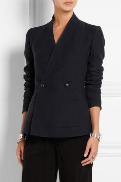 Rick Owens | Stretch wool-blend jacket | NET-A-PORTER.COM