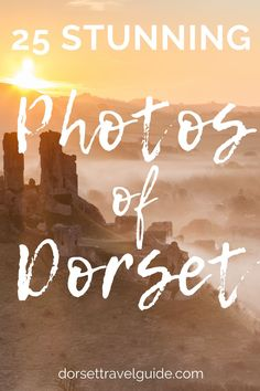 A collection of amazing photos of Dorset in Southwest England. Perfect if you need some inspiration for your next UK holiday! #dorset #england #UKtravel