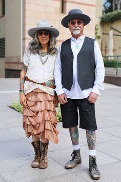 Anne and Bill at MOCA