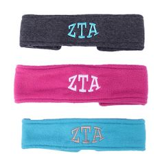 With cold weather still lingering around, the Item of the Week is sure to keep you warm. Check out these BRAND NEW ZTA ear warmers at Crown & Co. Shop at store.zetataualpha.org.