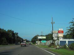 Highway 90 in Grand Bay Alabama