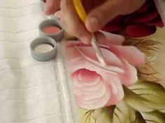 Pintando em 5 Minutos com Márcia Spassapan   Rosas Fluorescentes - YouTube