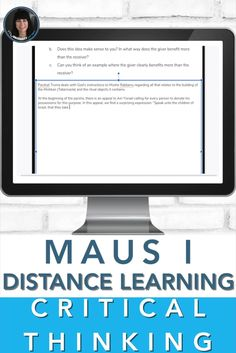 MAUS I (test, questions, teacher notes) PRINT OR DIGITAL | DISTANCE LEARNING ➢ Five pages of teacher notes➢ Information on how I use the text in my classroom➢ A multiple-choice test with 20 questions, answers, and page numbers➢ 11 short answer questions with twelve sub-questions➢ 16 GOOGLE SLIDES JUST ADDED!! The 11 short answer questions are now interactive and print! ANOTHER 14 QUESTIONS ADDED ON GOOGLE SLIDES!!! CLICK TO SEE MORE