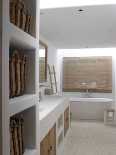 spa bathroom design and decor ideas for your dream house 8 Spa Bathroom Design, Bathroom Spa, Bathroom Styling, Modern Bathroom, Small Bathroom, Master Bathroom, Minimal Bathroom, Bathroom Cabinets, Restroom Cabinets
