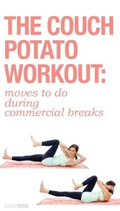 Couch Potato Workout: Moves To Do During Commercial Breaks
