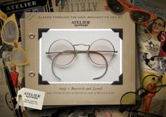 1920's www.ateliereyewear.com #glasses #style #luxury