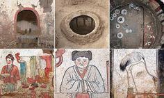 A uniquely beautiful glimpse into domestic life in Datong City, an ancient city in north China, has been found inside a circular burial tomb believed to date back to the Liao Dynasty.