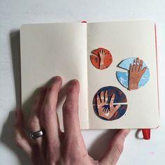 sketchbook studies 09 | Agnes Martin