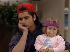 Full House-Jesse and Michelle Full House Memes, Full House Funny, Tio Jesse, Uncle Jesse, Rupaul, Full House Tv Show, Michelle Tanner, Paddy Kelly, John Stamos