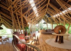 Mansions in Bali Are Made of Bamboo, Because Why Not? - Treehouses - Curbed National