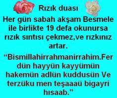 What are the Prayers of Rızık (Bereket) - Kurani Oku Allah Islam, My Prayer, Prayers, Faith, Words, Quotes, Marsala, Natural Health, Skincare