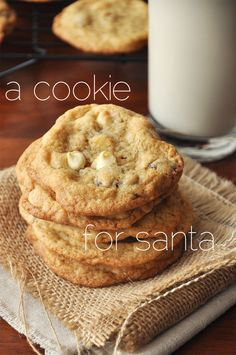 Whole Wheat White Chocolate Cranberry Cookies with se salt