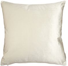 This inch Corona Ivory Velvet Pillow is a perfect off-white color for mixing and matching with bolder color pillows on darker sofas or chairs. Velvet Pillows, Throw Pillows, Dark Sofa, White Throws, Machine Wash Pillows, American Decor, Fabric Squares, Colorful Pillows, Blush Roses