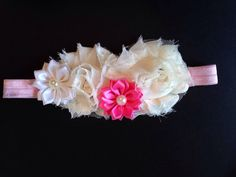 Headband, Girl Hair Accessories, Flower Girl Accessories, Baby Headband, Hair Clip, Clippie on Etsy, $5.95