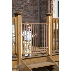 Walmart: Cardinal Gates Stairway Special Outdoor Child Safety Gate, White | Cardinal  Gates   Child Safety Gates @ WALMART.COM | Pinterest | Child Safety ...
