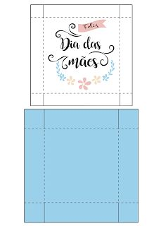 Caixinha para Doces - Dia das Mães - Mimeria Diy Paper, Paper Crafts, Diy And Crafts, Crafts For Kids, Mothers Day Decor, Bullet Journal School, Diy Gift Box, Envelope, Birthday Gifts