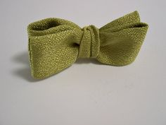 Green Bow Tie  Chartreuse Green Bow Tie  Mens Bowtie  by ClassA, $19.00